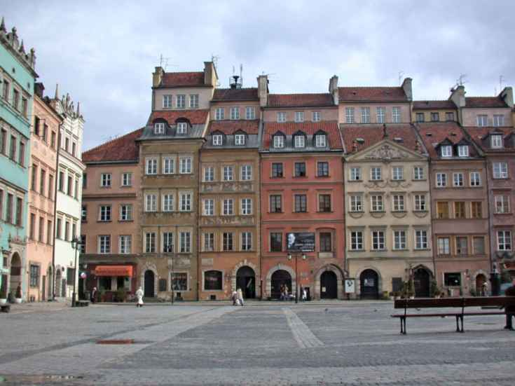 Market Square in Old Town, Warsaw